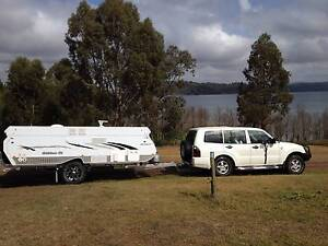 Goldstream ST(Shower/Toilet) Off Road Camper Trailer - hard top Balcolyn Lake Macquarie Area Preview