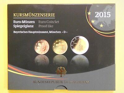 """P19/4) BRD VfS KMS 2015 D in PP 2€ Bundesländer """"Hessen"""", 5,88€ gebraucht kaufen  Hannover"""