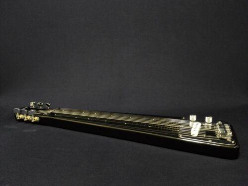 Haze HSLT 1920 Electric LAP Steel Guitar w/Feet Supporters, Glass Slide Bar
