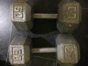 Selling dumbbell weights
