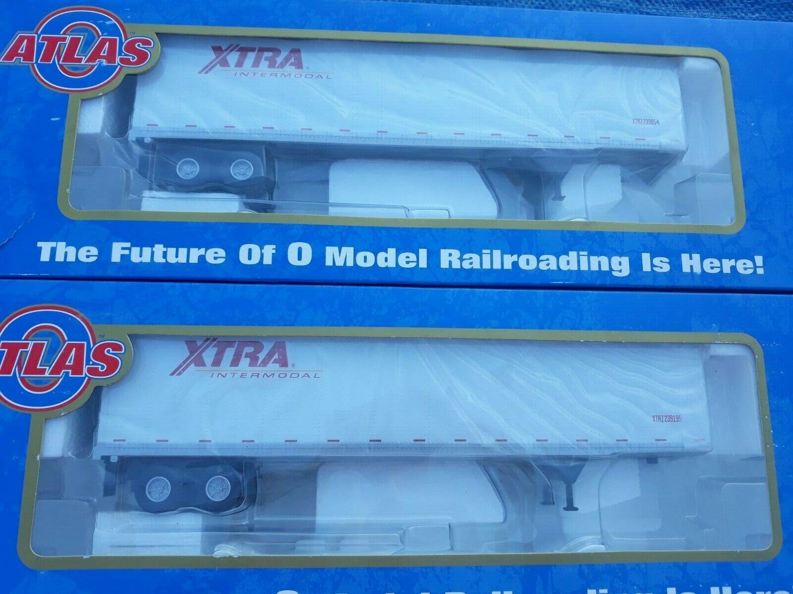 2 Atlas O intermodal pines 45' Xtra trailers