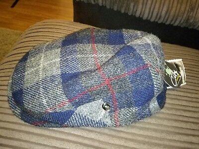 CITY SPORT cap Harris Tweed Donegal Tweed 1920's Peaky Blinders Cap Top Quality