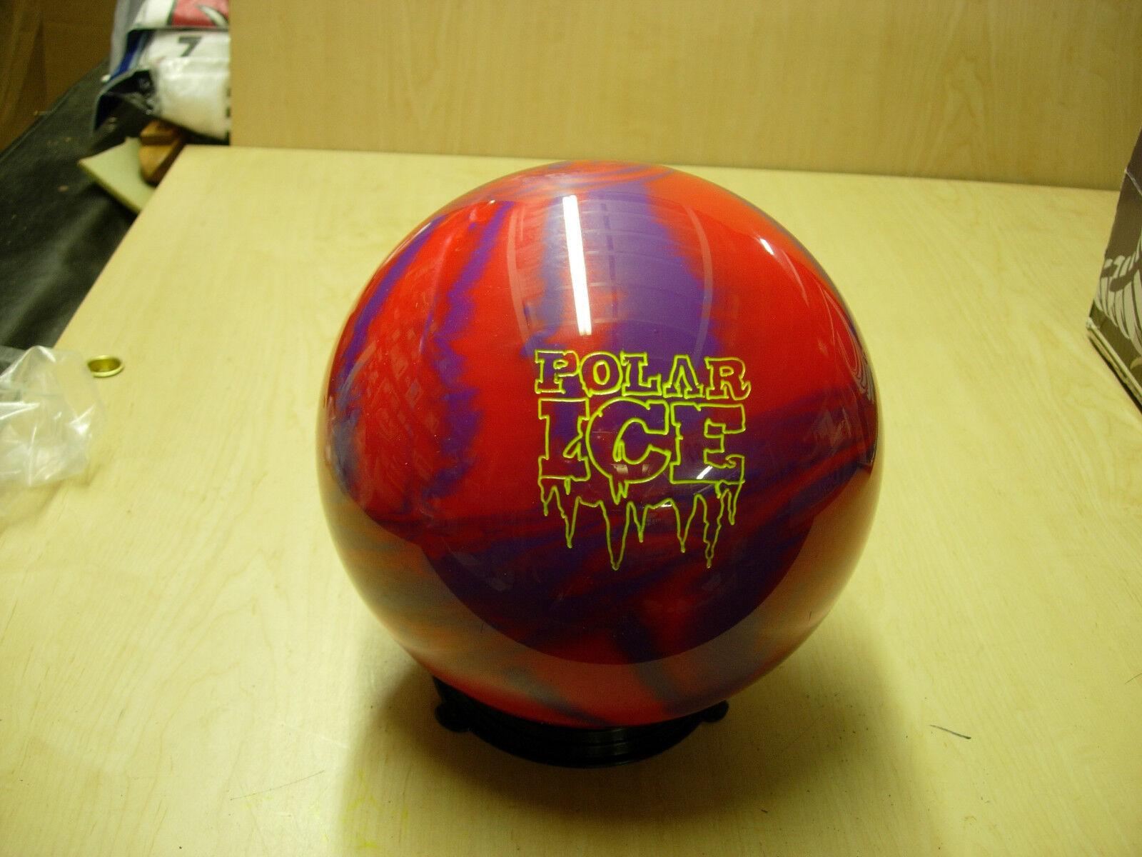 16 0oz Tw 3.75 Storm Polar Ice Red/purple Pearl Urethane Bowling Ball