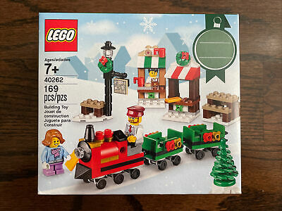 Lego Seasonal Holiday set - 40262 - CHRISTMAS TRAIN RIDE - New and Sealed