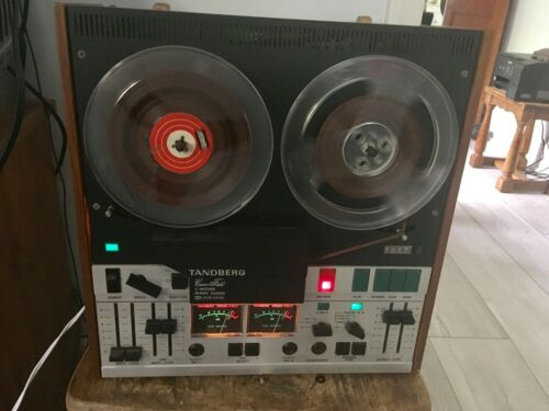 TANDBERG 9200XD 7 inch 4 Track STEREO reel to reel tape deck recorder 10XD-4