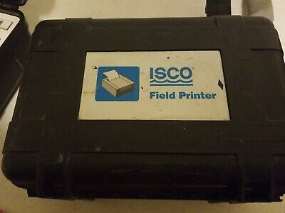 Isco Teledyne Field Printer For 3700 3770 Portable Sampler 60-3774-001