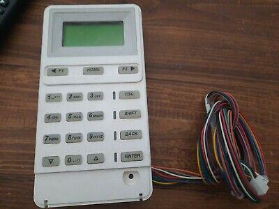 Adtbrinksbroadview Alarm 4000b S3121 Alphanumeric Programmer For Bhs-2000 1200
