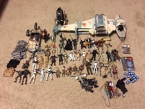 Star Wars Huge Lot of Collectibles & Memorabilia