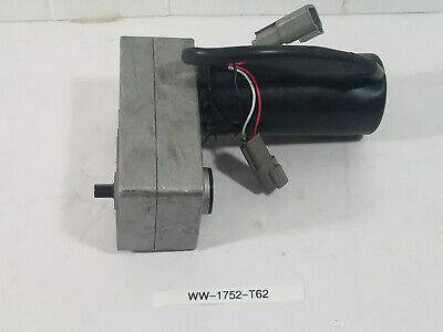 New Dc Gear Motor Unbranded With Plugins.