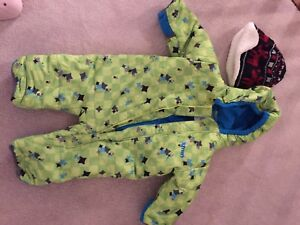 12 month winter snowsuit