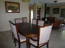 Period/Antique style Eight seater dining table and chairs Crows Nest Toowoomba Surrounds Preview