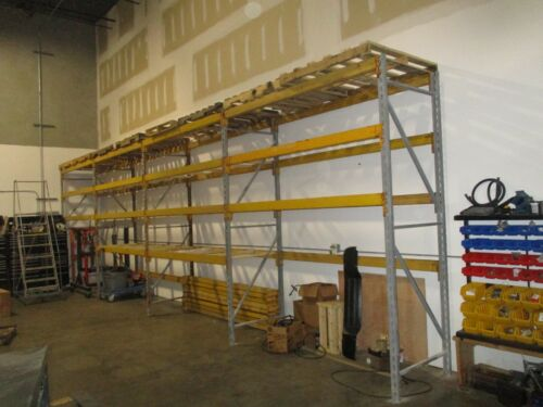 "10ft x 36"" Keystone/Republic Pallet rack uprights (have 5)"