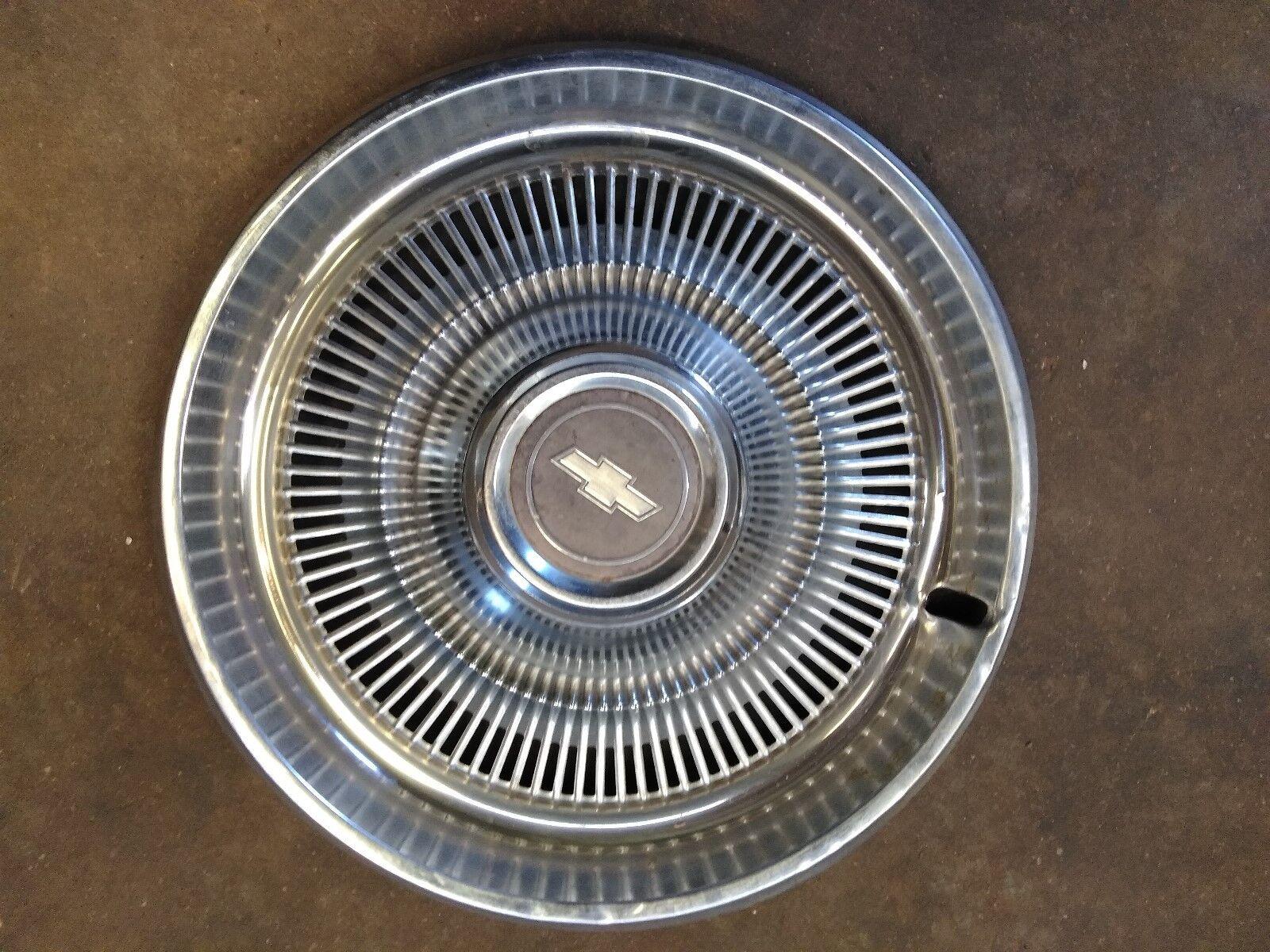 "70 - 75 Chevrolet Wheel Cover Hubcap 15""  GM OEM 03968761"