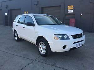 2006 Ford Territory 7 SEATER DUAL FUEL REG AND RWC West Footscray Maribyrnong Area Preview