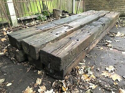 reclaimed railway sleepers X6
