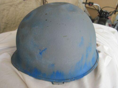 WWII STEEL POT HELMET
