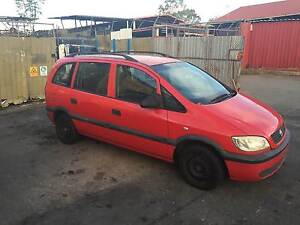 2002 Holden Zafira Red S/Wagon #1959 - Parts From $5.00 Underwood Logan Area Preview