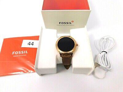 Fossil Women's Venture HR Stainless Steel Touchscreen Smartwatch FTW6005