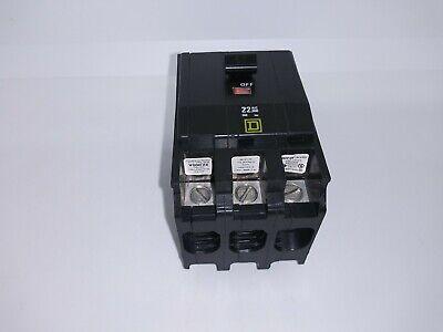 Square D Qob360vh 3 Pole 60 Amp 22ka Yellow Face Circuit Breaker