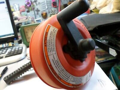 Ridgid Hand Augersnake With Power Spin