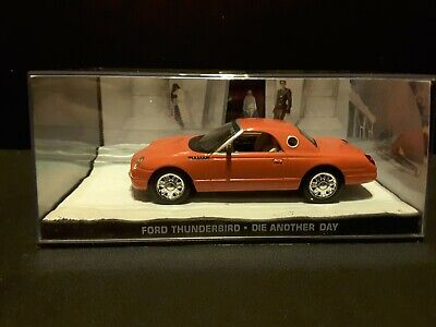 """Ford Thunderbird 2002 James Bond """"Die Another Day"""" diecast car in scale 1/43"""