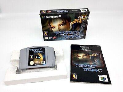 Nintendo 64 Perfect Dark N64 PAL