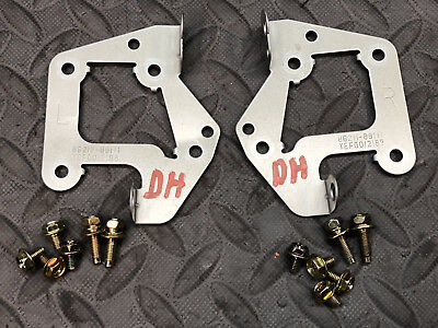 Toyota Truck 4Runner Tacoma OEM RADIO STEREO MOUNTING BRACKETS with SCREWS BOLTS - Oem Radio Brackets