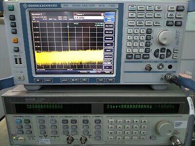 Rohde Schwarz Fsv7 Signal Analyzer 10hz To 7ghz W Fsv-k30 N.f And Gain Meas.