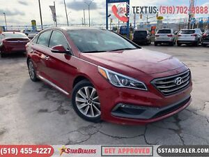 2016 Hyundai Sonata Sport Tech | NAV | LEATHER | PANO ROOF | CAM