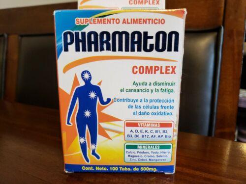 Pharmaton Tabletas Complex Complejo B Calcio Hierro Calcium Iron 100 Tablets