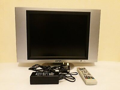 """ONN OLCD1504 15"""" 12-VOLTS LCD TV WITH REMOTE CONTROL"""