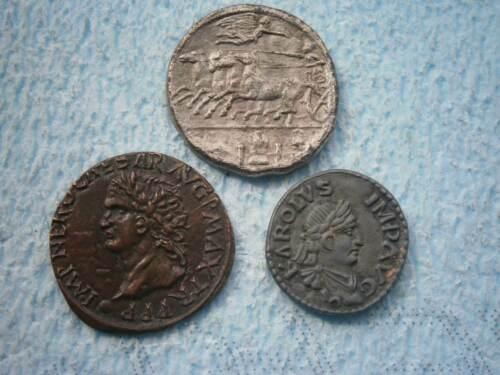 Syracuse Decadrachme BP Trésor des Monnaies Antiques COIN TOKEN NERONE IMPERATOR