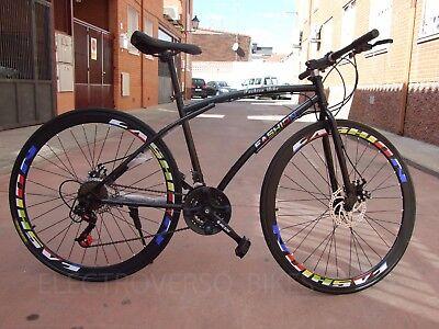 Bicicleta de Carretera 700 x 23 C Bici 21 velocidades Nuevo diseño