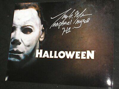 TONY MORAN Signed MICHAEL MYERS 8x10 Photo HALLOWEEN Autograph - Halloween Tony Moran