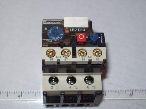 TELEMECHANIQUE LR2-D1305 OVERLOAD RELAY 0.63-1.0A P742