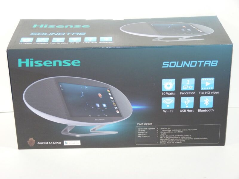 Hisense MA-317 SoundTab 7 inches 8GB Android Tablet --BRAND NEW-- 1