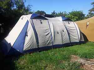 Large 3 room tent up tp 14 people. Acacia Ridge Brisbane South West Preview