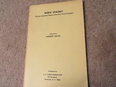 Vintage Allan Troy Chess Book--Boris Spassky! for sale  Tubac