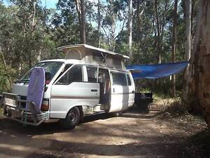 Toyota Hi-Ace 1984 with pop-up roof/solar panel/fridge/march rego Blackburn Whitehorse Area Preview