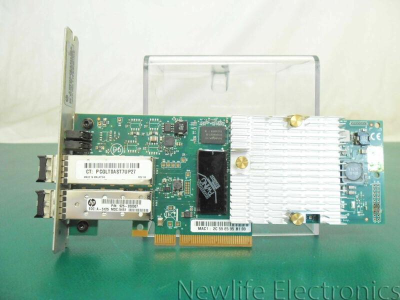 HP QR487A 3PAR StoreServ 7000 2-Port 10Gb/SEC ISCSI/FCOE Adapter