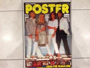 ABBA Special 2 Swedish Poster Magazine 1978 Sweden