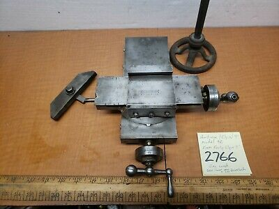 Hardinge Lathe 9 Xy Compound Slidetoolrest Model 98 Exc Cond