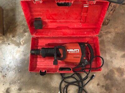 Hilti Te1000avr 120v Corded Demolition Hammer