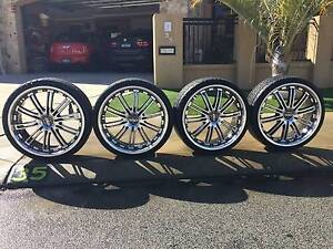 """22"""" Alloy Rims with free tyres 245/30Z/22R Dianella Stirling Area Preview"""