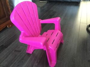 Chaise petite fille
