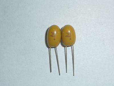 50pcs 25v 100uf 25v Radial Dip Tantalum Capacitor