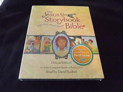NEW the JESUS STORYBOOK BIBLE DELUXE EDITION BOOK & CD'S NIP 2 available