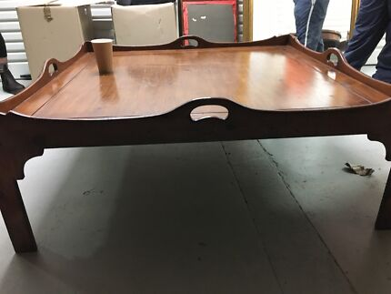 LARGE VINTAGE 1970S COFFEE TABLE GREAT CONDITION Coffee