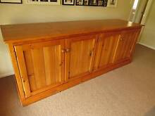 Solid Pine Timber 4 door Hutch/Buffet Redland Bay Redland Area Preview