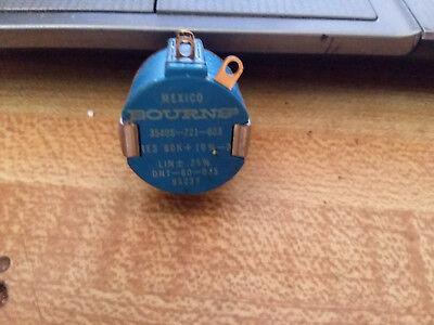1x Bourns Precision Potentiometer 60k Ohm - 10